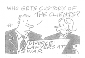 who gets custody of the clients